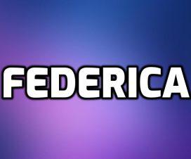 Origen del nombre Federica
