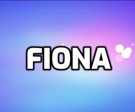 Origen del nombre Fiona