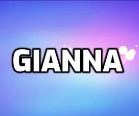 Origen del nombre Gianna
