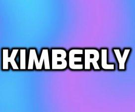 Origen del nombre Kimberly