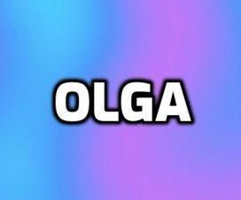 Origen del nombre Olga