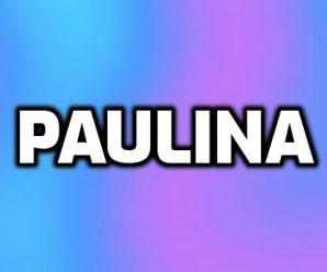 nombre Paulina