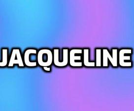 Significado del nombre Jacqueline
