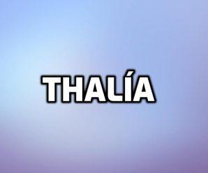 nombre Thalía