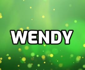 Origen del nombre Wendy