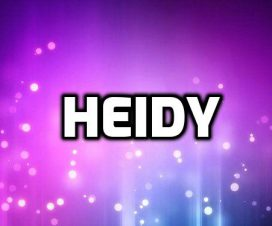 Heidy