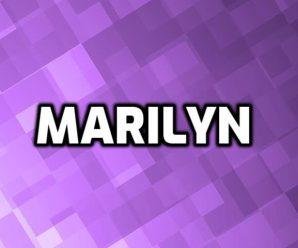nombre Marilyn