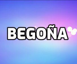 Nombre Begoña