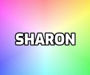 nombre Sharon
