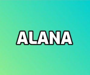 nombre Alana
