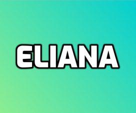 Significado del nombre Eliana