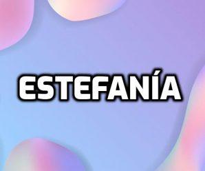 nombre Estefanía