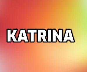 nombre Katrina