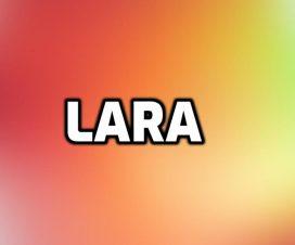Significado del nombre Lara