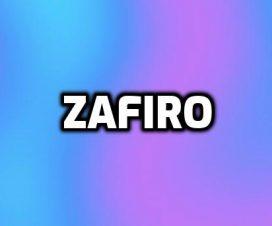 Significado del nombre Zafiro