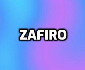 nombre Zafiro