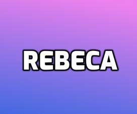 significado de nombre rebeca