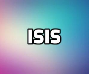 nombre Isis