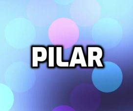 Origen del nombre Pilar
