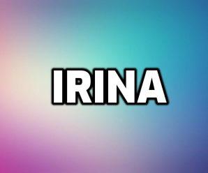 nombre Irina