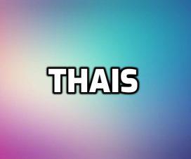 Significado del nombre Thais